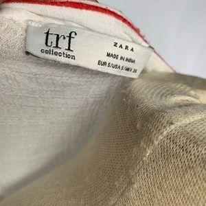 Zara Dresses - Zara TRF White Embroidered Tunic Dress - NEW - S